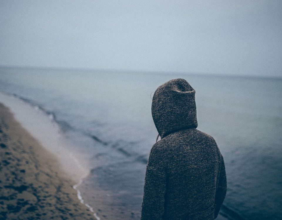 person-human-beach-dull-atmosphere-alone-grey